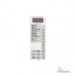 Membrana Microondas Prosdocimo /Sanyo tb604 Em700t branca